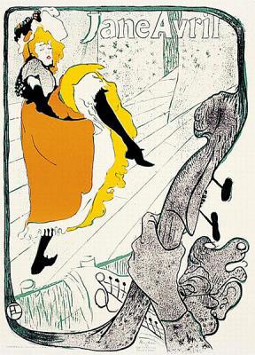 Affiche de Toulouse Lautrec