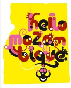 """Affiche de G.Gauckler pour """"Imagin Mozambique"""""""