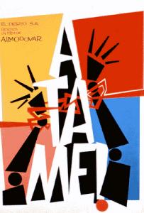 Affiche de Atame (attache moi) 1989