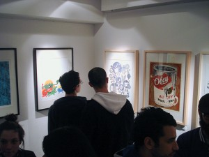 Photo du vernissage via www.glltn.com