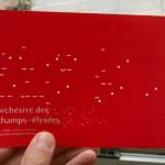 Identité graphique de l'orchestre des champs élysées