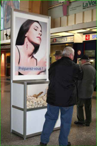 Campagne de pub pour ...