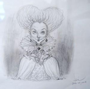 Reine de coeur par Bobby Kiu