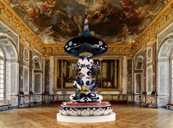 Murakami investit le chateau de versailles la veilleuse for Exposition jardin versailles 2015