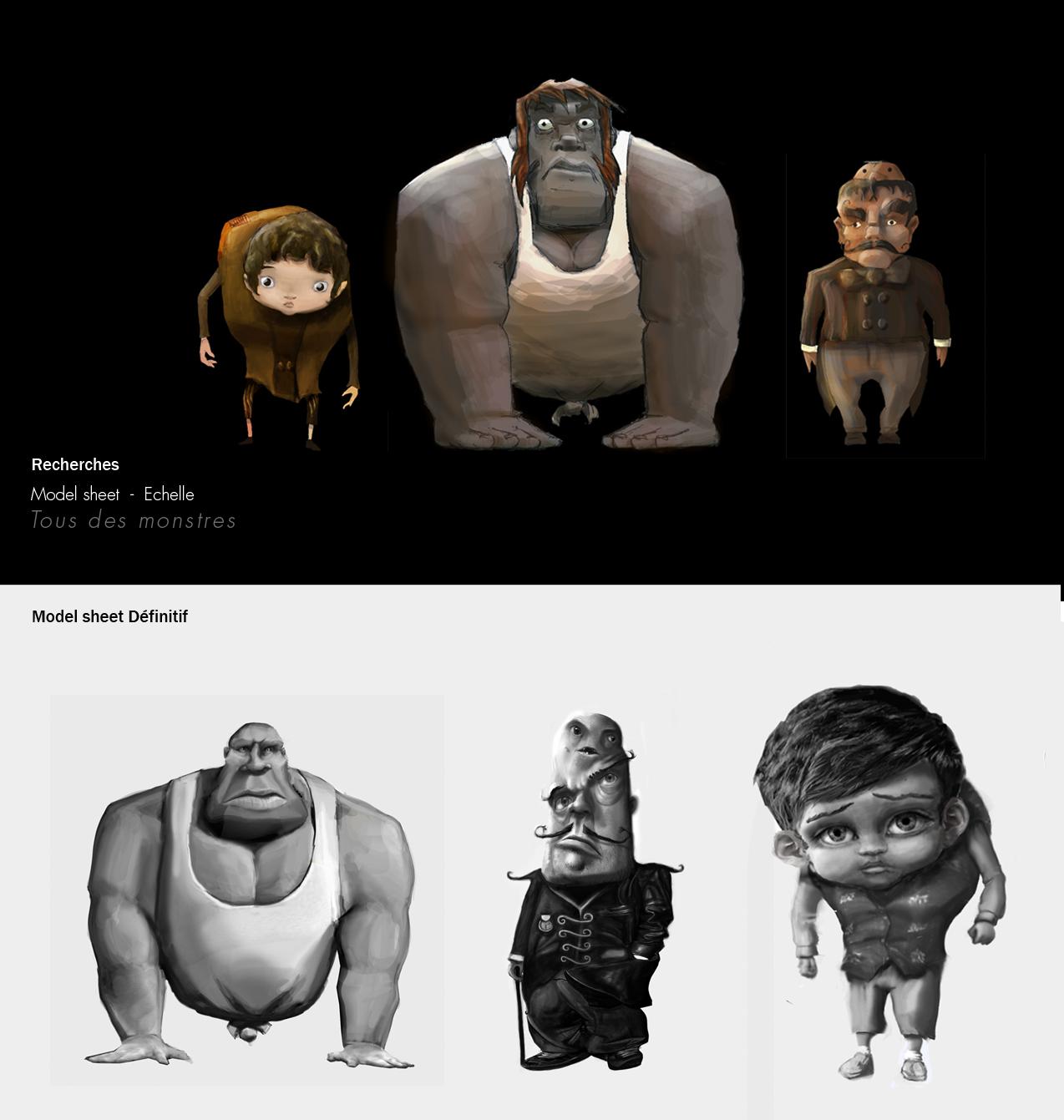 Tous des monstres, un film d'animation issu de Supinfocom - la ...
