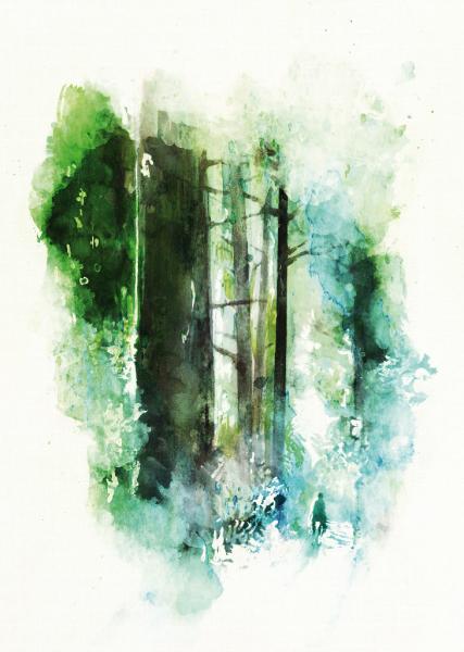 Affiche Dédales Editions par Eloise Oger