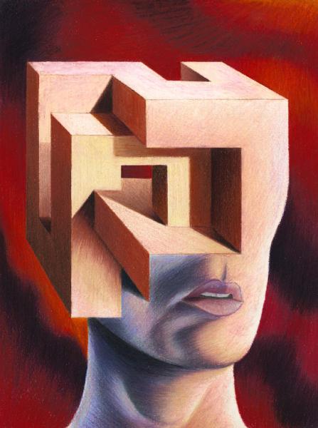 Couverture du premier numéro de la revue d'Art Dédales, par JB Bazin