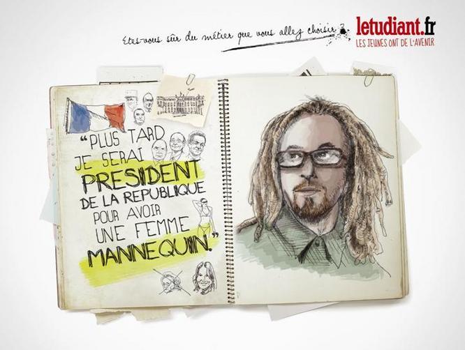 Je voudrai être président