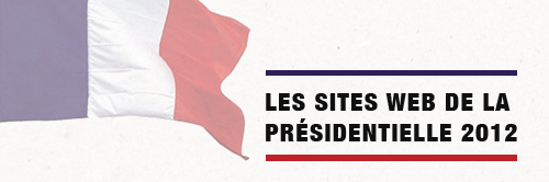 Tour d'horizon des sites web de la présidentielle 2012