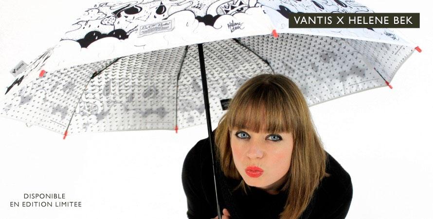 Les parapluies Vantis, un voyage unique et original à travers la pluie