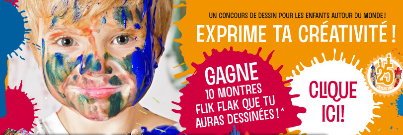 Flik Flak lance un concours d'illustration pour (très) jeunes talents!