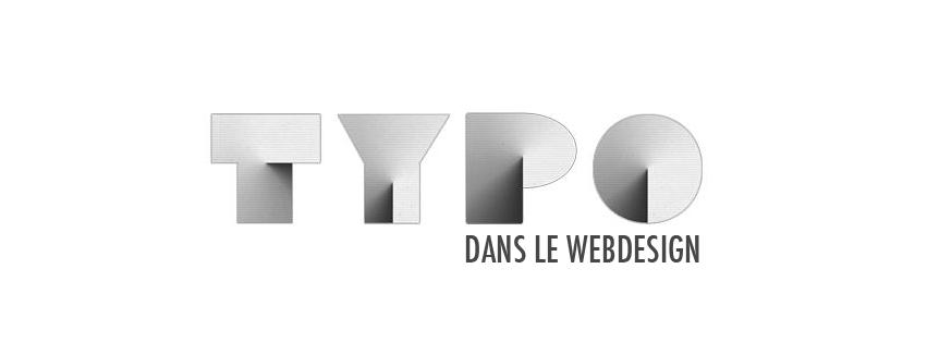 La typographie dans le design d'interface