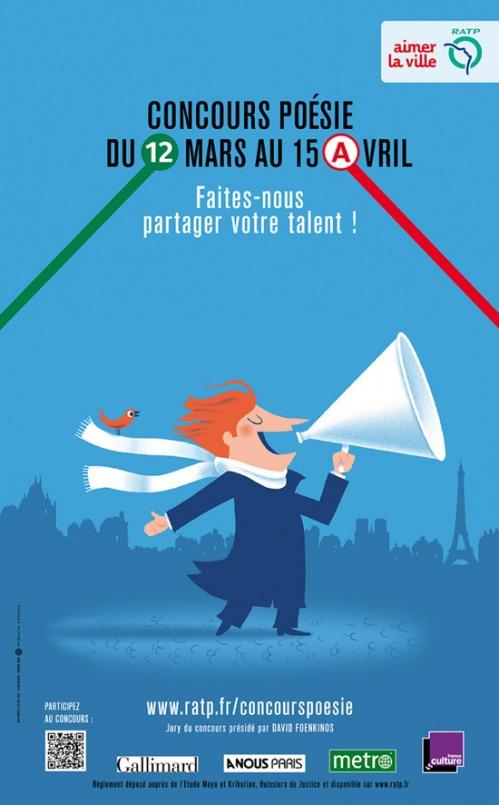 Affiche de la RATP