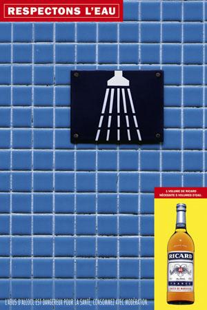 """Campagne """"Respectons l'eau"""" pour Ricard"""