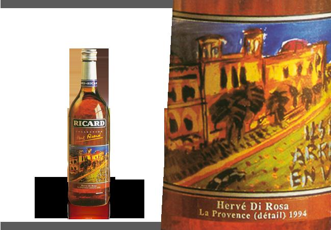 Création d'Hervé di Rosa pour Ricard