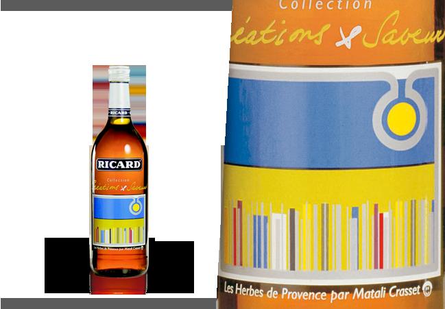 Création de Matalie Crasset pour Ricard