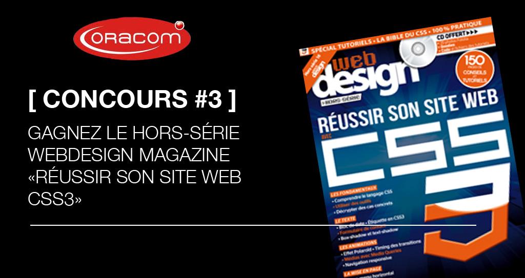 concours Webdesign magazine