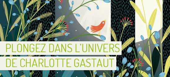 Coup de coeur pour les jolies illustrations de Charlotte Gastaut