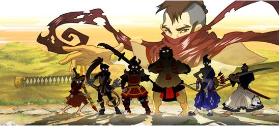 Rōnin : l'univers du Japon féodal dans un jeu vidéo tactile