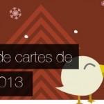 Galerie de cartes de voeux graphiques et originales pour 2013