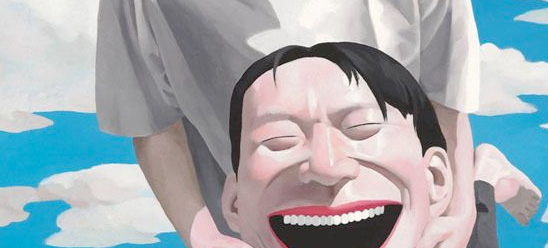 Yue Minjun, le peintre chinois du rire jaune