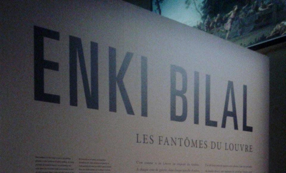 Entrée de l'exposition - Louvre