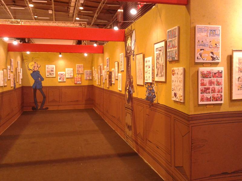 """Exposition """"la galerie des illustres"""" au Salon du Livre"""