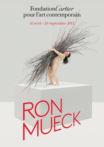 Affiche de l'exposition Ron Mueck