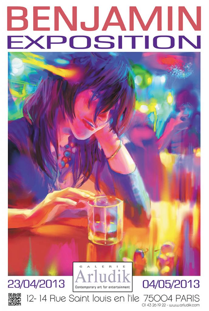 Affiche de l'exposition Benjamin