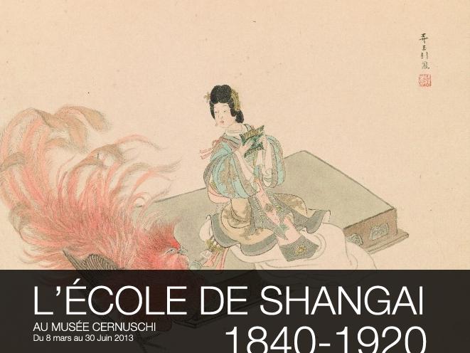 """Exposition """"l'école de Shangai"""" au musée Cernuschi"""