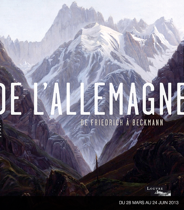 "Affiche de l'exposition "" De Friedrich à Beckmann """