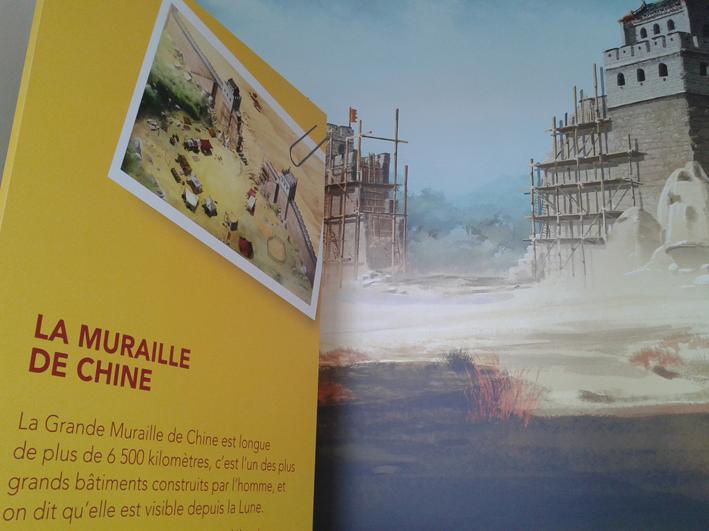 exposition au Musée Guimet - zoom sur la muraille de Chine