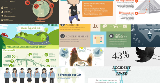 [Tendance] Galerie d'infographies créatives pour votre inspiration