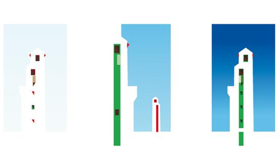 Les jolies sérigraphies de Thomas Huot-Marchand en hommage à l'architecte André Pavlovsky