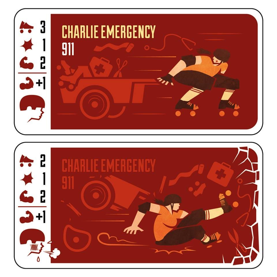 Voici la sixième bloqueuse de l'équipe rouge : Charlie Emergency. ©In Game We Trust