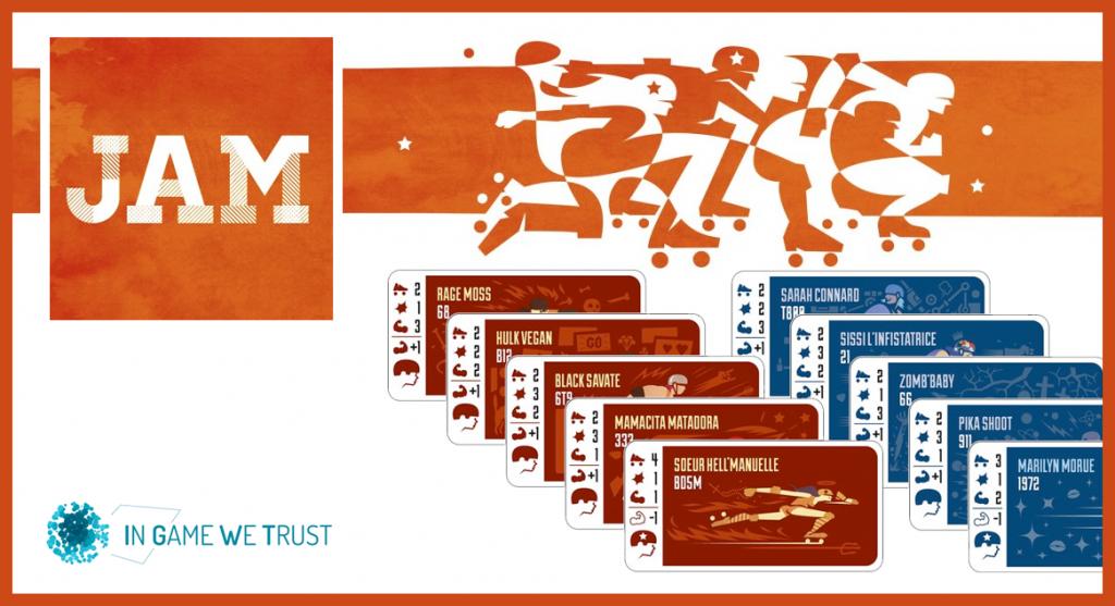 Aperçu du jeu Jam conçu par In Game We Trust