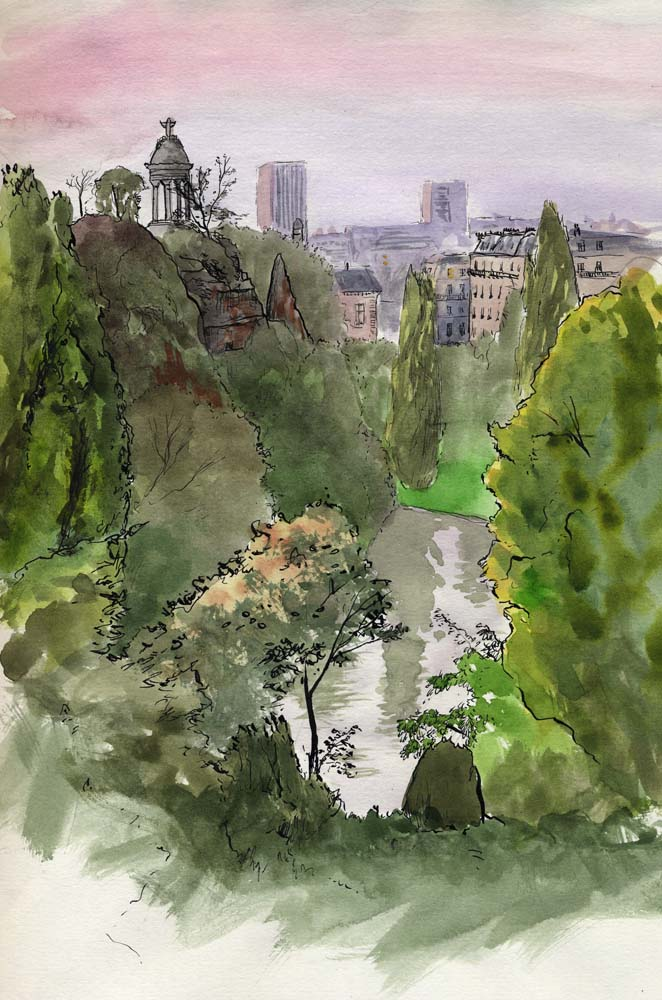 © Justine aka Melantropy - Paris (Buttes Chaumont)