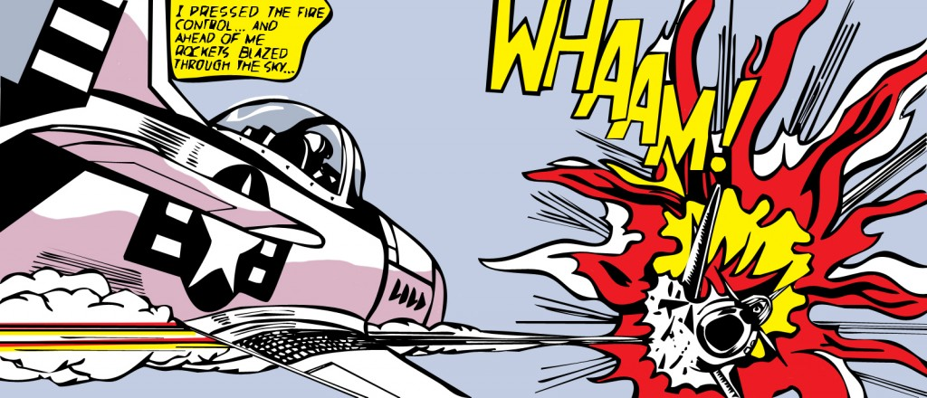 """Whaam"" par Roy Lichtenstein - 1963"