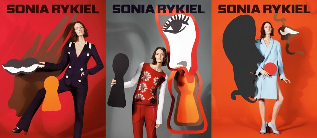 La campagne pub pour la collection automne/hiver 2013 de Sonia Rykiel - par M/M