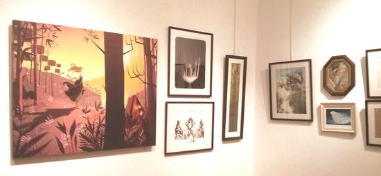 """exposition """"Merveilleux"""" à la galerie Arludik"""