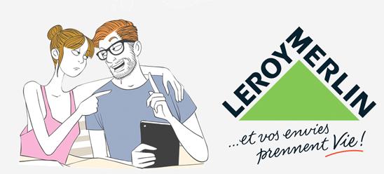 L'auteur Pacco s'associe à Leroy Merlin pour une web BD sur le bricolage