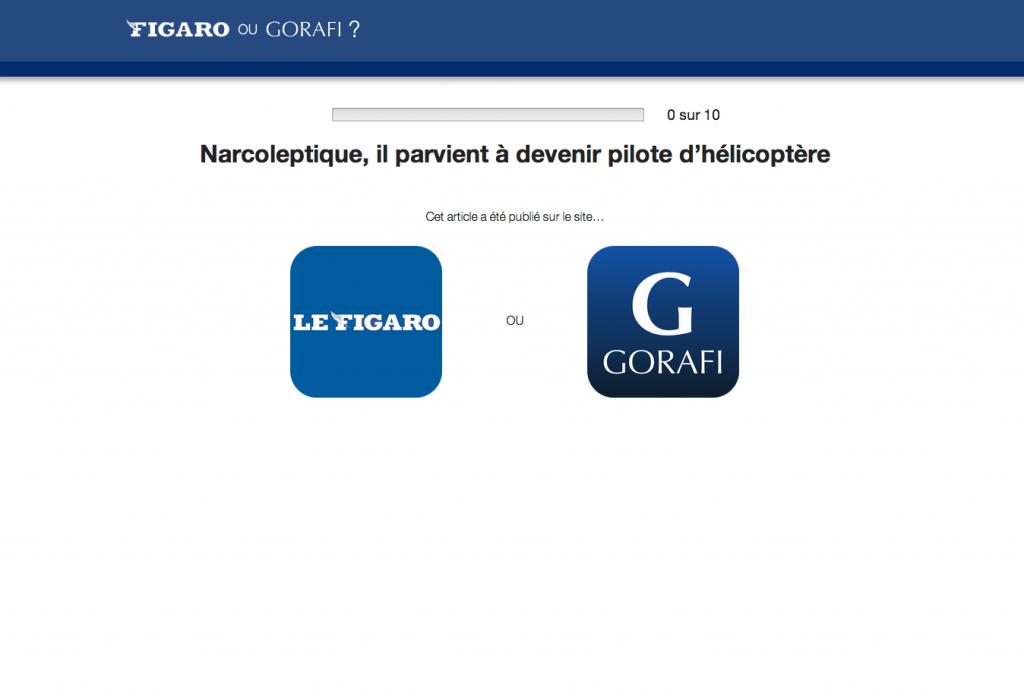 Gorafi VS Figaro