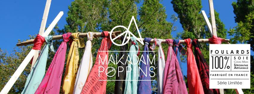 Les foulards Makadam Poppins - © Camille Lassabe