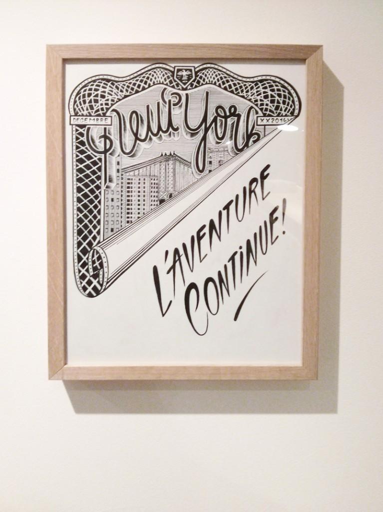 New-York, mois de décembre - Franck Pellegrino pour la galerie l'Attrape Reve