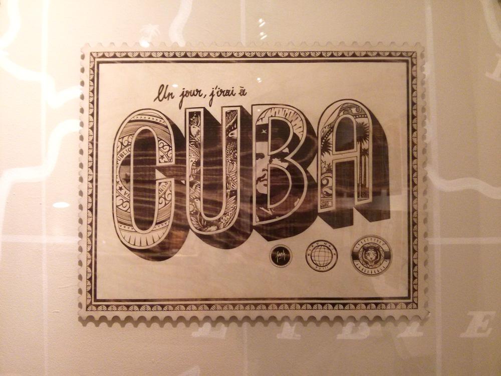 Cuba - Franck Pellegrino à la galerie l'Attrape Rêve