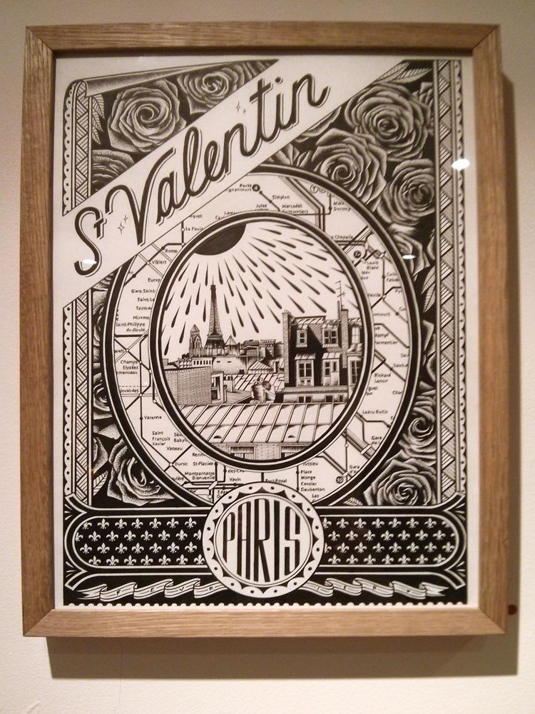 Mois de Février, Paris pour la St Valentin - Franck Pellegrino à la galerie l'Attrape-rêve
