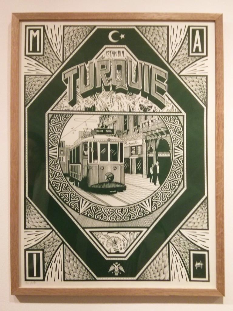 Turquie - Franck Pellegrino à la galerie l'Attrape Rêve