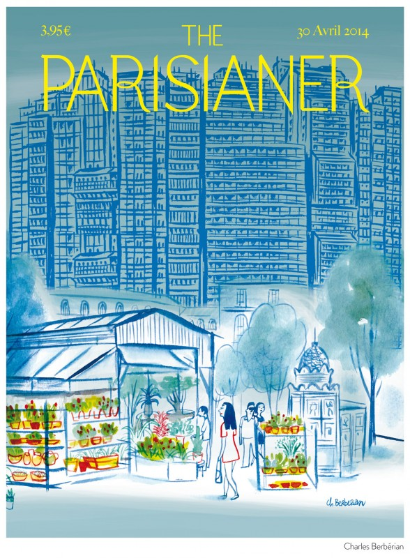 Charles Berbérian pour The Parisianer