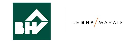 Ancien / Nouveau logo BHV