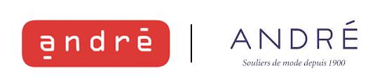 Ancien / Nouveau logo André